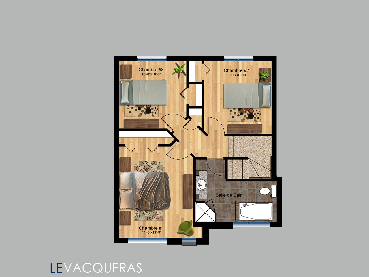 Vacqueras-Etage